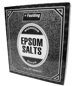 Epsom Salts for Energy Clearing